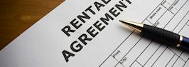 How is a rental contract made?